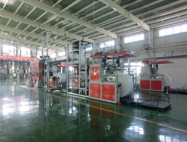 重载膜(FFS)凹版印刷成型机组